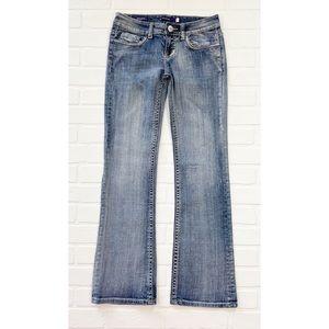 Vigoss Distressed New York Boot Cut Jeans